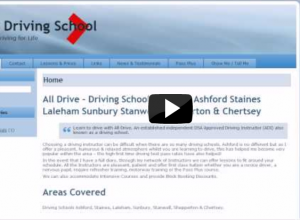 Driving School Website Design: Easy & Quick Setup